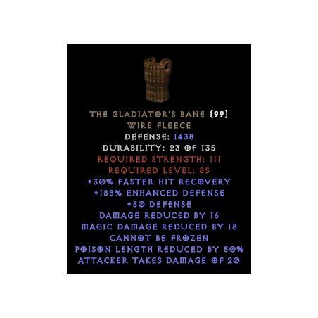 The Gladiator's Bane - Random