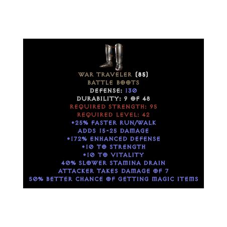 War Traveler 30-39% MF