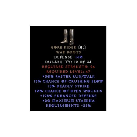 Gore Rider - Random