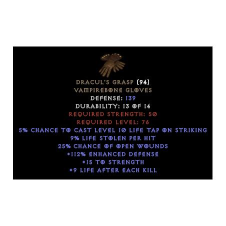 Dracul's Grasp - Random
