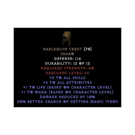 Harlequin Crest Shako - Random