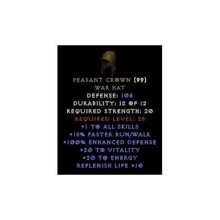 Peasant Crown - Random