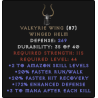 Valkyrie Wing - 2 SK