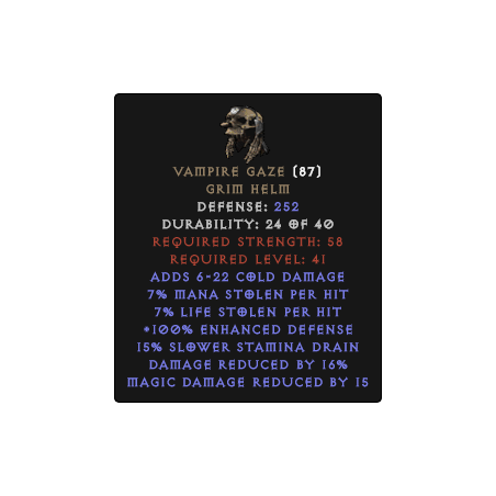 Vampire Gaze - Random