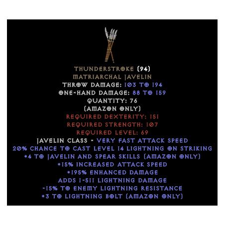 Thunderstroke - Random