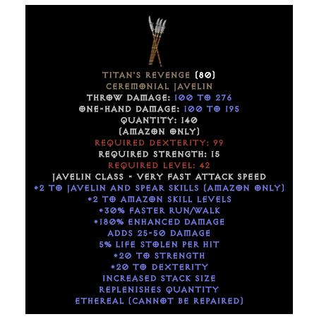 Titan's Revenge - Random