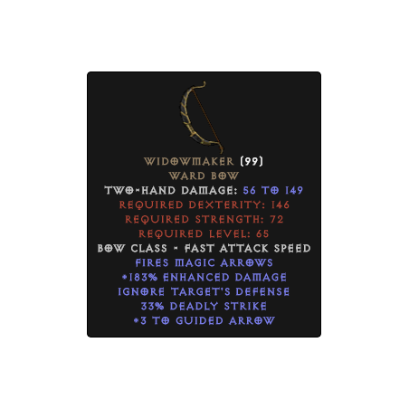 Widowmaker - Random