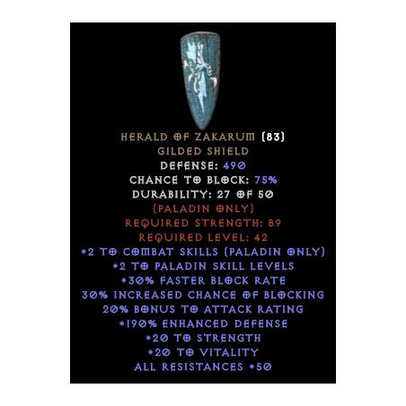Herald Of Zakarum - Random